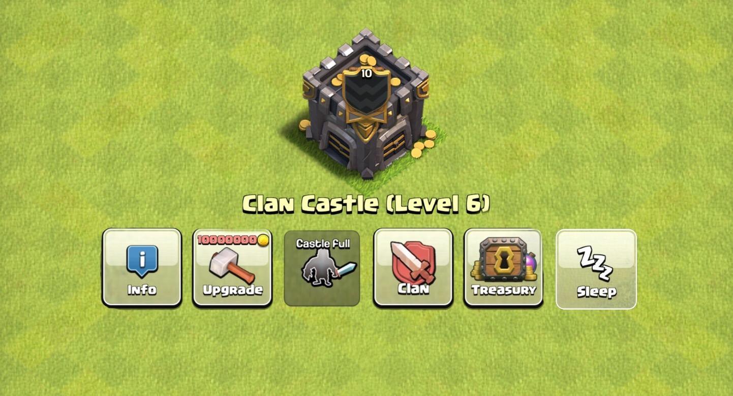 Sneak Peek 5: Copy Layout,Castello del clan dormiente e Cambio nome al costo di gemme