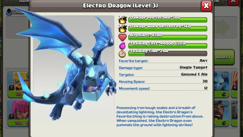 Sneak Peek 7: arriva il Drago Elettrico su Clash of Clans!