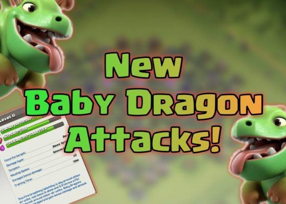 baby dragon attack strategy th9 750x400 - Th10 war: disposizioni e eserciti con BABY DRAGON!
