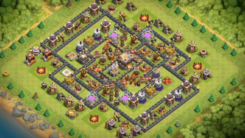 Basi e disposizioni per Th11 su Clash of Clans [Settembre 2018]
