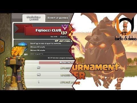 "War con i vincitori del ""Infernal Tournament Tower""! (Clash Of Clans)"