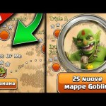 25 NUOVE MAPPE IN SINGOLO!! Clash of Clans