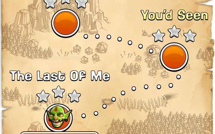 Sneak Peek #2: si amplia la mappa Goblin giocatore singolo su Clash of Clans