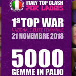 ITC for Ladies: arriva la prima BIG WAR tutta femminile con un premio di 5000 GEMME!