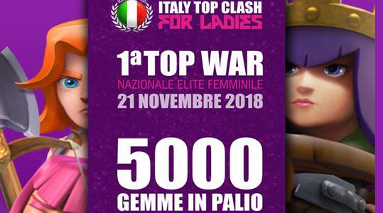 foto articolo - ITC for Ladies: arriva la prima BIG WAR tutta femminile con un premio di 5000 GEMME!
