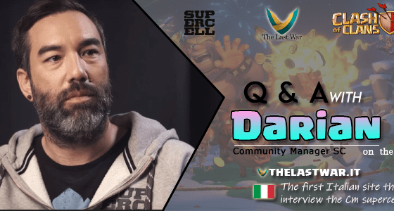 evidenza ENG 1 - Clash of Clans 2019 Q&A with Darian on the TheLastWar