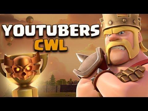 0 2 - LA PRIMA CWL DEGLI YOUTUBERS! Clash of Clans