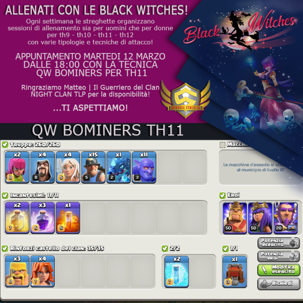 12 marzo 600x600 - Training con le Black Witches QW BoMiners TH11