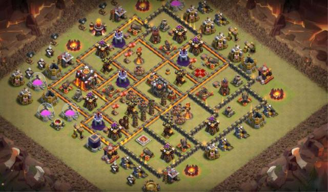 photo 2019 03 07 22 36 00 - Layout Basi War per Th10 – Marzo 2019 | Clash of Clans