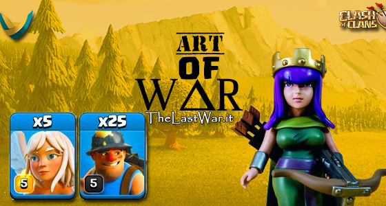 AoW - Art of War :  Acronimi e tecniche di attacco su Clash Of Clans