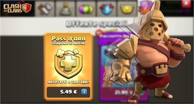 Miniatura Pass 1024x553 - Il Pass Gold ha fruttato 27$ milioni di entrate alla Supercell   Clash of Clans