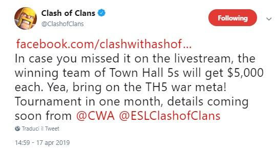 auPMhsQ - Al via l'e-Sports su Clash of Clans riservato ai Th5
