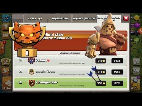 0 - Sono loro il Clan Italiano più forte?!? Vichinghi italy (Clash Of Clans)