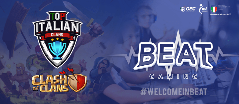 Top Italian Clans sbarca su BEAT Gaming! | e-Sport Clash of Clans