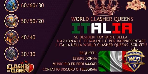 Black Witches: Nazionale Italiana Femminile Clasher terza nel WCQ