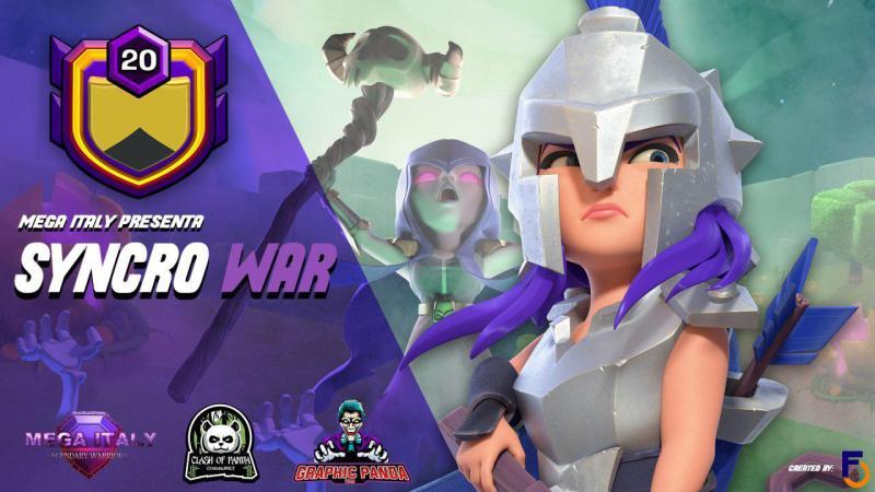 Mega Italy – Syncro war- Festa clan lvl 20 ft Clash of Panda community