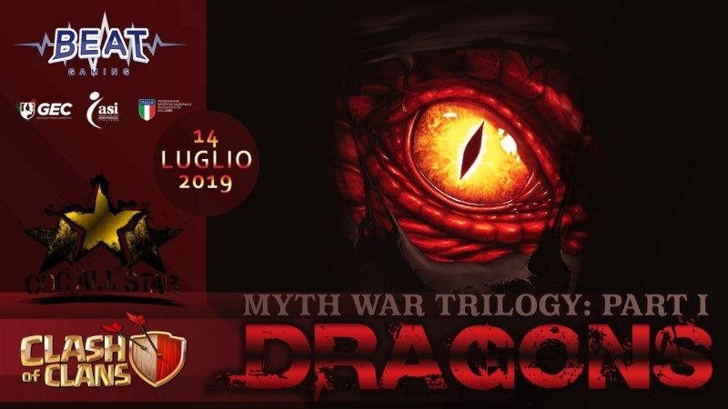 Myth War Trilogy: Dragons – Nuovo evento Clash of Clans All Star
