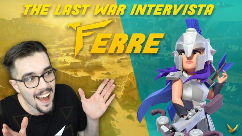 Il The Last War intervista  Ferre