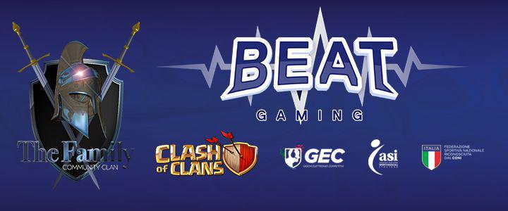 La TheFamily entra in BEAT GAMING: ecco come diventare un tesserato GEC-ASI di Clash of Clans