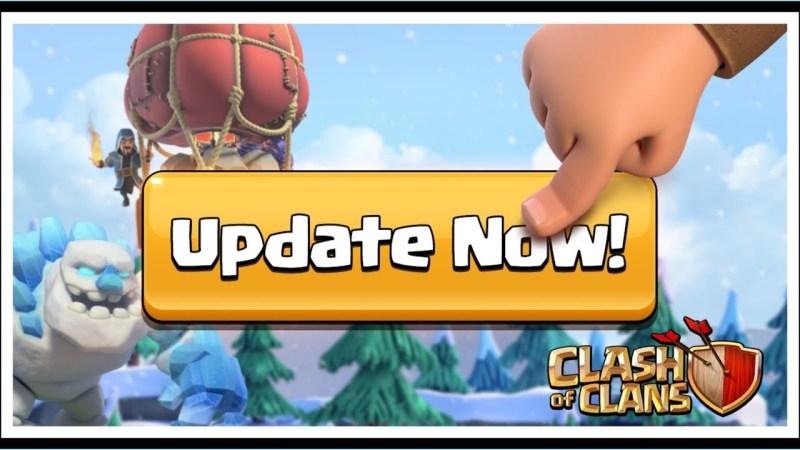 Disponibile un nuovo Aggiornamento facoltativo per Clash of Clans nel PlayStore/App Store
