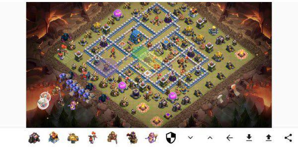 DF CoC Strategy Planner: l'app per Android che ti aiuta pianificare il tuo attacco su Clash of Clans