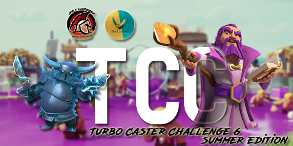 Riparte la Turbo Caster Challenge 6 del clan Italy Warriors su Clash of Clans