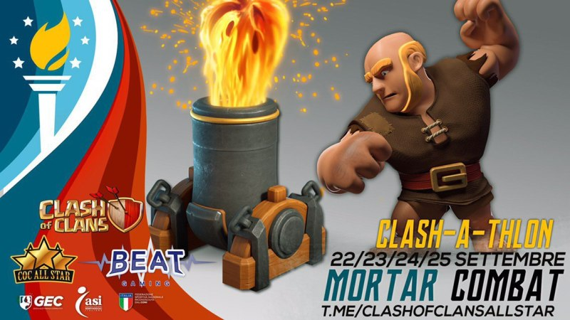 Sport news: mortar combat su Clash of Clans