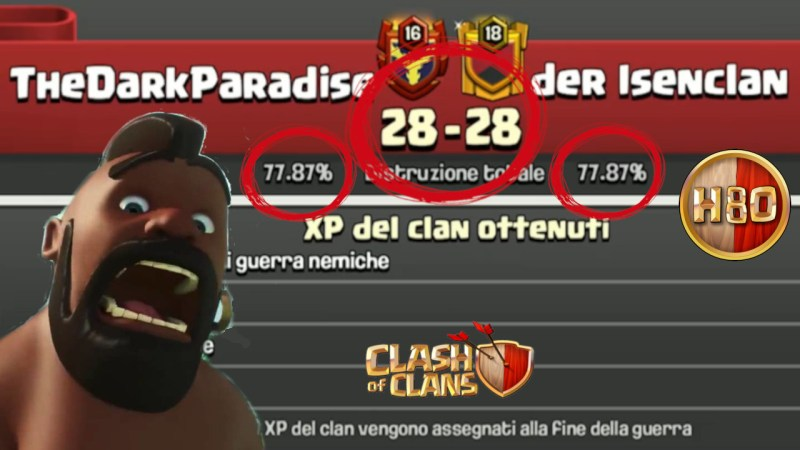 Clash of Clans ITA -E118- Pareggio Amaro in CWL