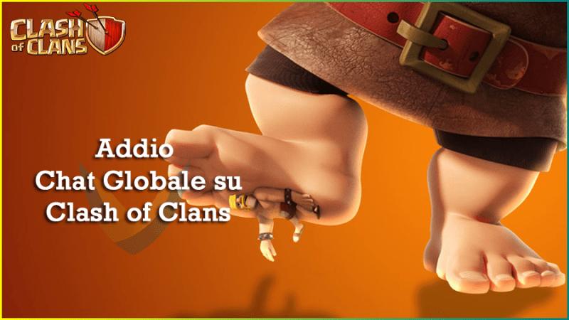 Aggiornamento Ottobre su Clash of Clans: addio alla chat Globale