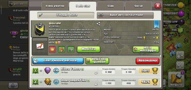 2effc2bb 3b0e 4c23 8371 925607d07a76 - Le vostre Leghe di Guerra tra Clan