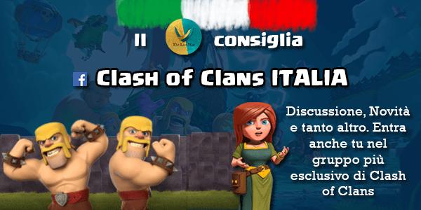 Il TLW consiglia: gruppo Facebook di discussione su Clash of Clans