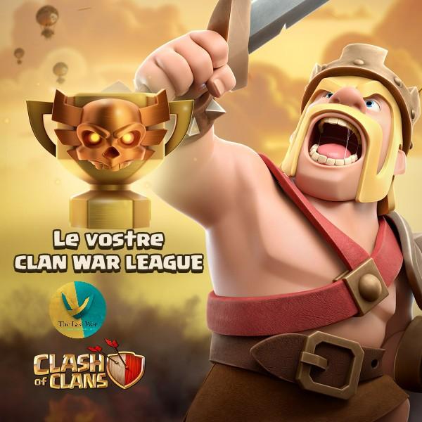 Le vostre Leghe di Guerra tra Clan