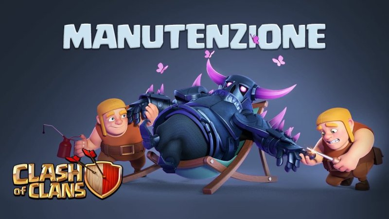 Manutenzione Server (19/12) su Clash of Clans