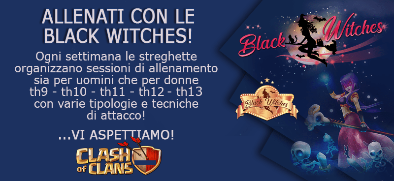 Training con le Black Witches, GoHogs per TH9