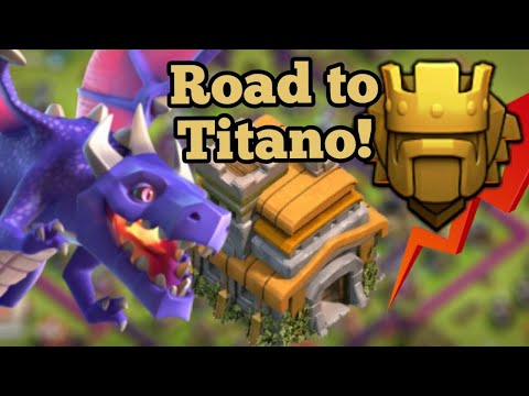 TH7 TRISTELLA TH8! ROAD TO TITANO E OLTRE COL TH7! Clash of clans