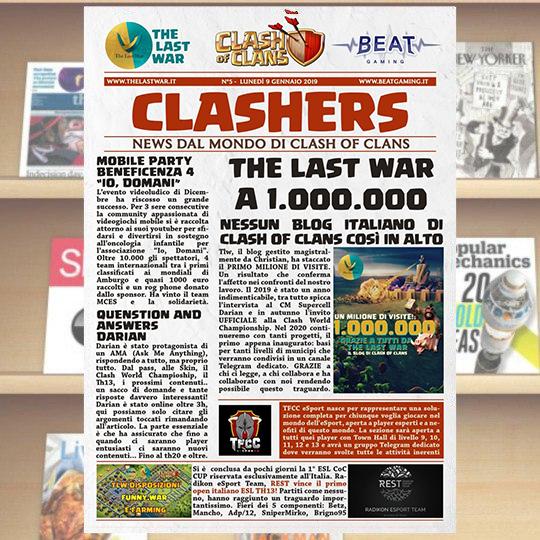 CLASHER – Volume 5