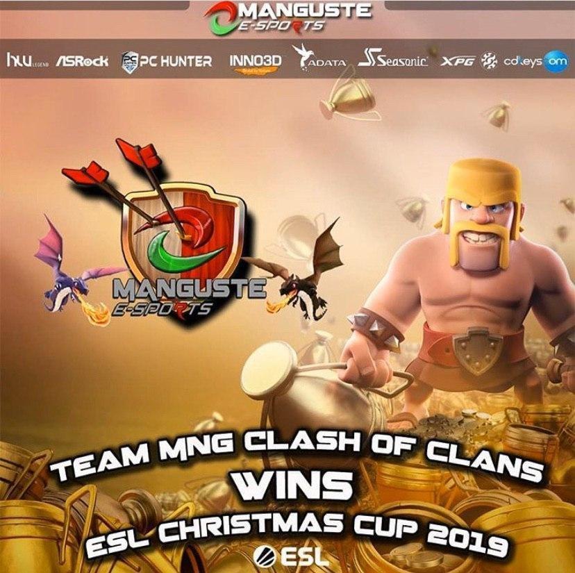 MANGUSTE COC si aggiuda la ESL Christmas Cup Ita 2019