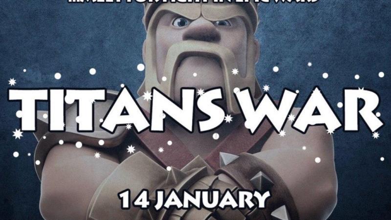 Prendi parte anche tu alla TITANS WAR