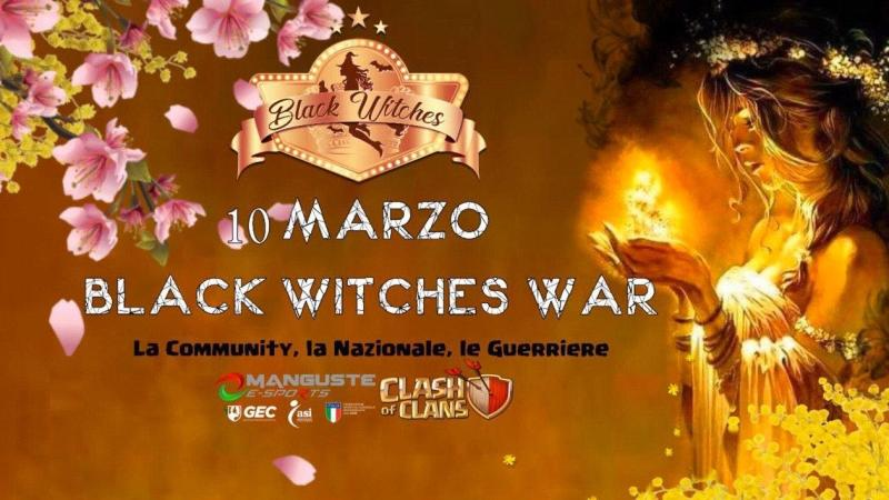 10 marzo MegaWar – Black Witches