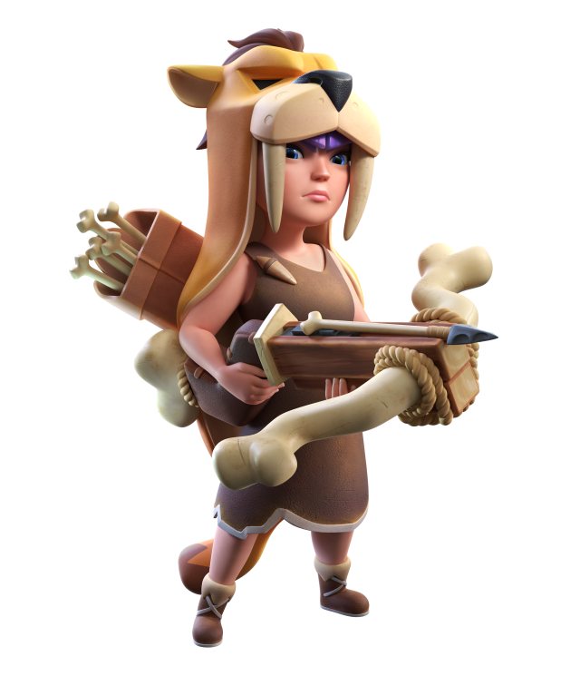AQP Marketing - Skin di Marzo su Clash of Clans: ecco la Regina Primitiva