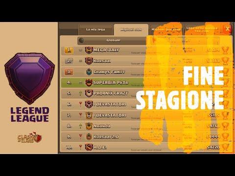 Record Fine Stagione e attacchi live in lega leggenda!