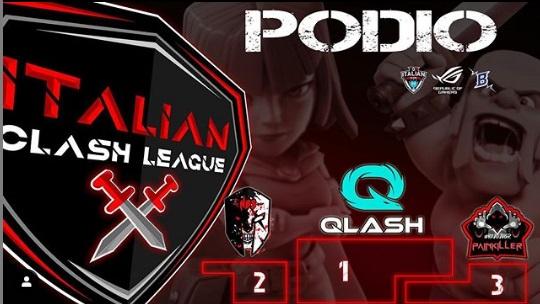 QLASH si aggiudica il torneo ITCL 4 WAR LEAGUE