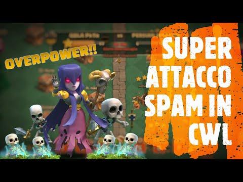 SUPER ATTACCO SPAM IN CWL!