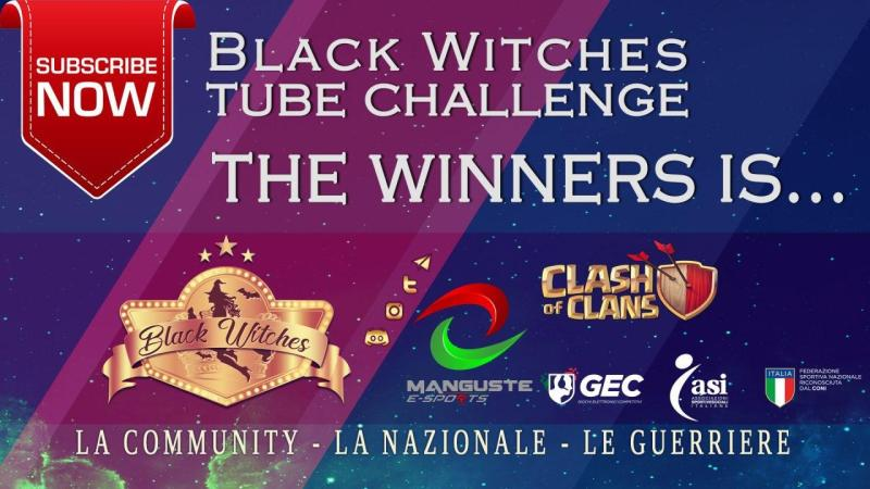 Black Witches Tube Challenge: ecco i vincitori