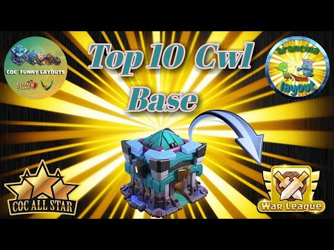 TOP 10 TH13 WAR BASES/CWL + LINKS 2020 May Best Town Hall 13 War Base Clash of Clans