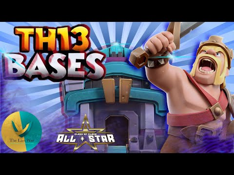 TOP 10 TH13 War Base With Copy Link – BEST Anti 3 Star TH13 Base Clash of Clans