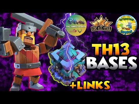 New 30 TH13 WAR BASES/CWL + LINKS 2020 May Best Town Hall 13 War Base Clash of Clans Top Th13