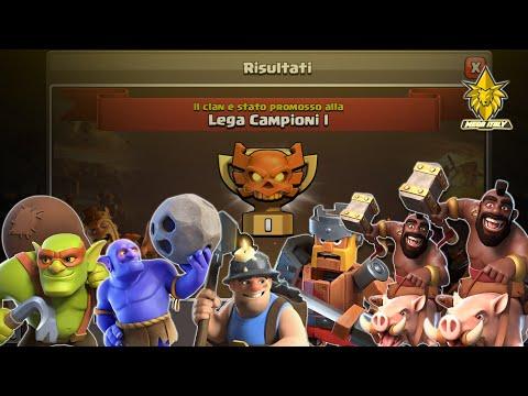 Clan War league Recap   Mega italy Clash of Clans
