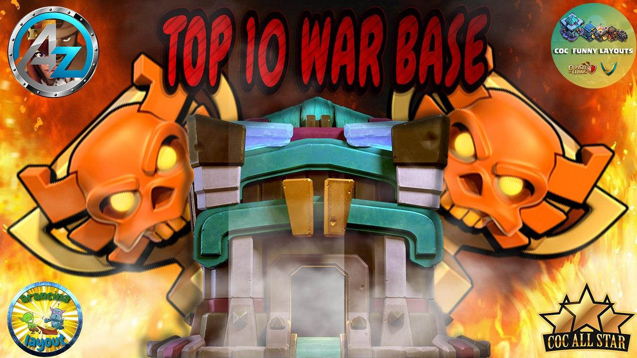 'GOING TO 4K SUBSCRIBERS' Top 10 TH13 WAR BASES/CWL + LINKS 2020 May Best Town Hall 13 War Base