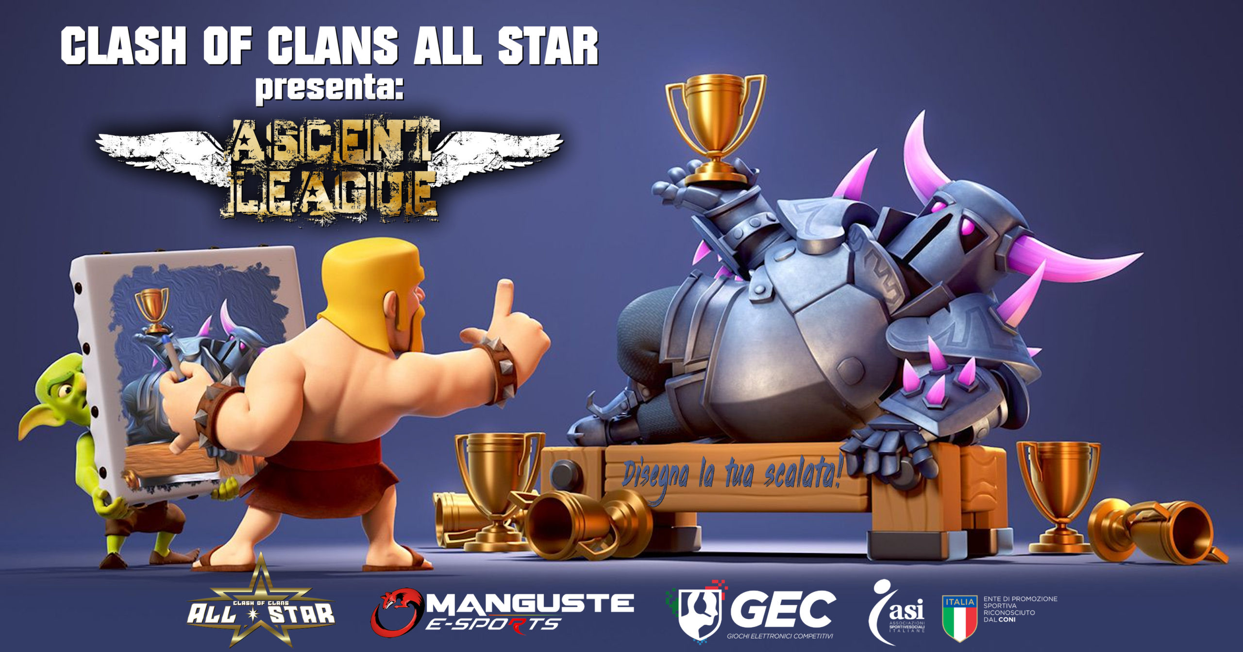 All Star, CoC Italia Stats e ASCENT LEAGUE